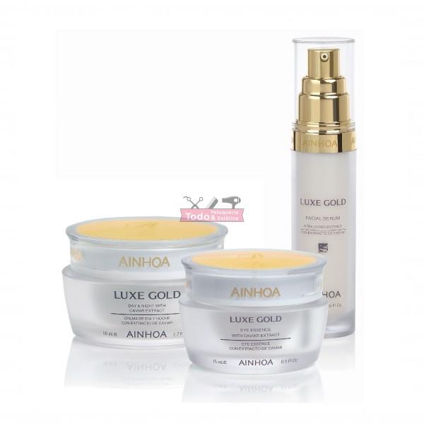 Ainhoa Luxe gold crema de dia y noche