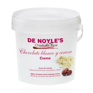 Crema de Chocolate Blanco y Cereza de Noyles 1kg