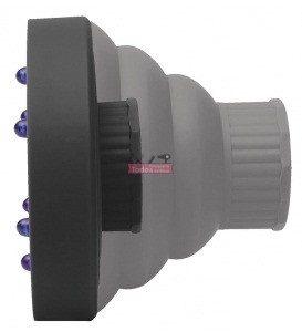 Difusor silicona plegable negro