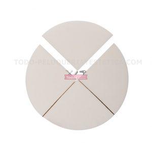 Esponja maquillaje (4 unid.) Caja