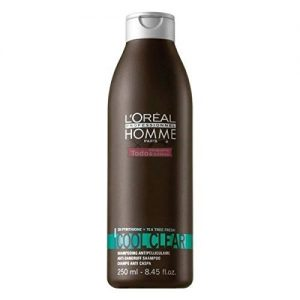 L'Oreal Professionel Homme Cool Clear Champú Anticaspa 250ml