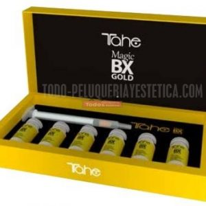 TAHE MAGIC-EFECTO BOTOX GOLD (Redensificador capilar 6 ampollas x10ml)