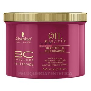 BC Bonacure Oil mIracle Brazilnut mascarilla 500ml