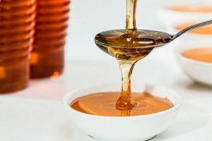 miel pura para mascarilla hidratante casera